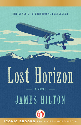 book cover: Lost Horizon by James Hilton