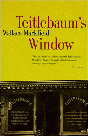 Image result for Wallace Markfield, Teitlebaum's Window,
