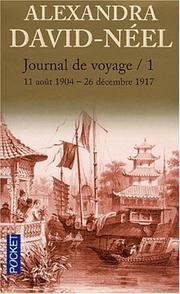 Journal de Voyage by Alexandra David-Néel