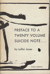 Preface to a Twenty Volume Suicide Note by Amiri Baraka