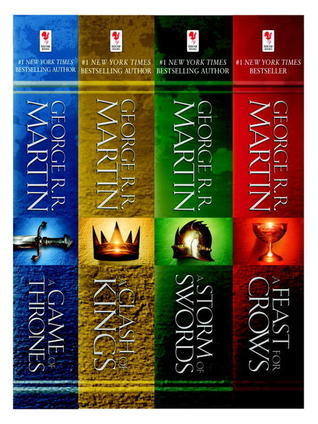 George R. R. Martin's A Game of Thrones 4Book Bundle:A Song of Ice and Fire Series: A Game of Thrones, A Clash of Kings, A Storm of Swords, and A Feast for Crows (Song of Ice & Fire)