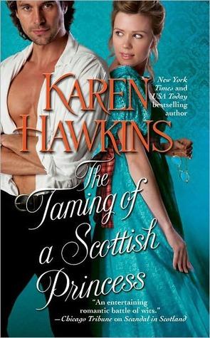 The Taming of a Scottish Princess (Hurst Amulet, #4)