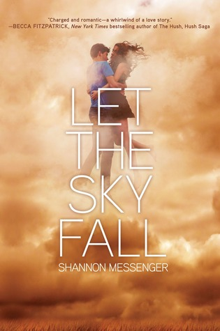 Let the Sky Fall by Shannon Messenger Hardcover