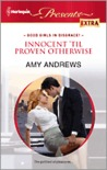 Innocent 'til Proven Otherwise by Amy Andrews