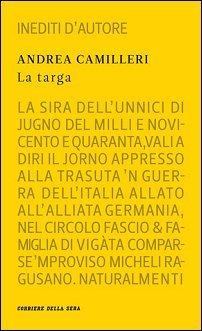 La targa by Andrea Camilleri