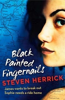Black Painted Fingernails by Steven Herrick