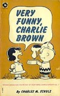 Very Funny Charlie Brown (Peanuts Coronet, #15)