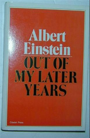 Out of My Later Years