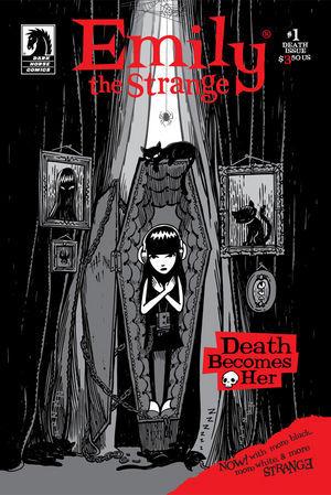 Emily the Strange: Death (Emily the Strange: Dark Horse Series 2, #1)
