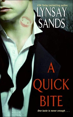 Review: A Quick Bite by Lynsay Sands (@Mollykatie112, @LynsaySands)