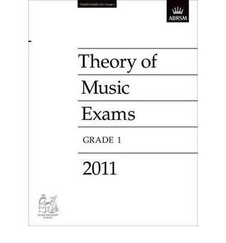 Theory of Music Exams, Grade 1, 2011