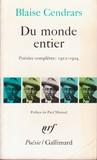 Du monde entier: poésies complètes 1912-1924