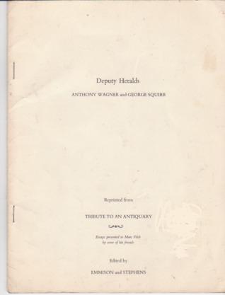 Deputy Heralds by Anthony R. Wagner