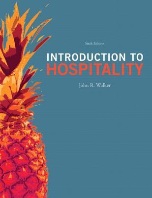 Introduction to hospitality by john r walker 13661393 fandeluxe Gallery