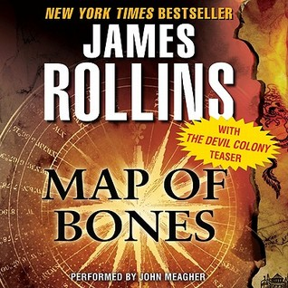 Map of Bones with The Devil Colony Teaser: A Sigma Force Novel