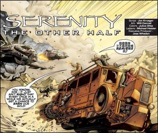 Image result for serenity the other half book cover