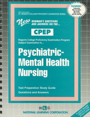 Psychiatric - Mental Health Nursing