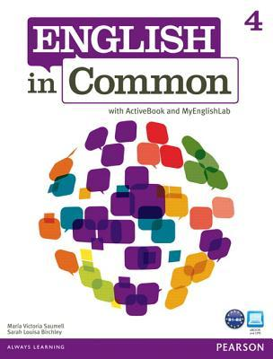 English in Common 4 with Activebook and Mylab English