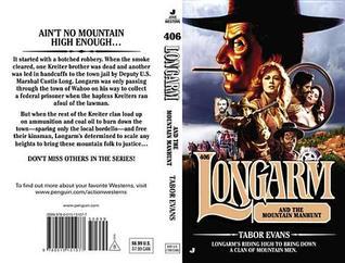 Longarm and the Mountain Manhunt (Longarm, #406)