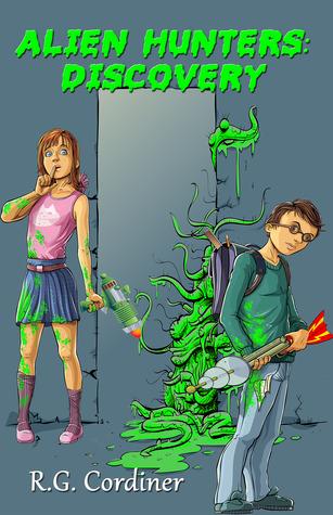 Alien Hunters by R.G. Cordiner