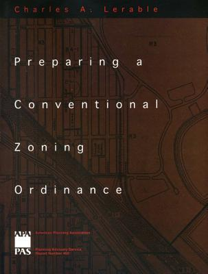 Preparing a Conventional Zoning Ordinance