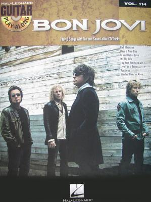 Bon Jovi: Guitar Play Along Volume 114