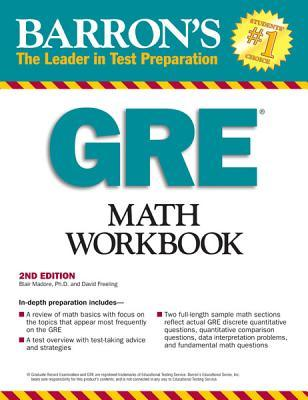 Barron\'s GRE Math Workbook by Blair Madore