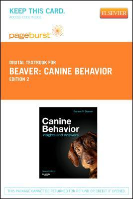 Canine Behavior - Elsevier eBook on Vitalsource (Retail Access Card): Insights and Answers
