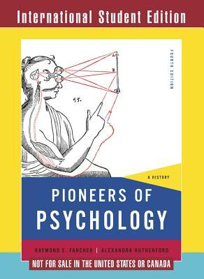 Pioneers Of Psychology Book
