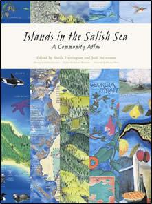 Islands in the Salish Sea by Sheila Harrington
