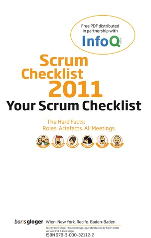 Your Scrum Checklist: Scrum Hard Facts: Roles. Artefacts. All ...