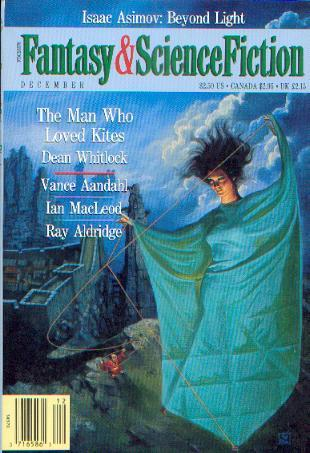 Fantasy and Science Fiction, December 1991 (The Magazine of Fantasy & Science Fiction, #487)