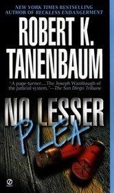 No Lesser Plea by Robert K. Tanenbaum