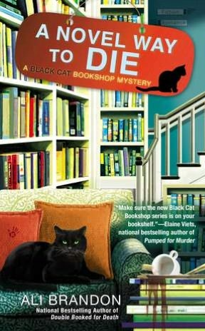 A Novel Way to Die(Black Cat Bookshop Mystery 2)