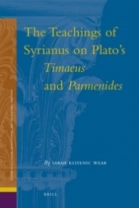The Teachings of Syrianus on Plato's Timaeus and Parmenides