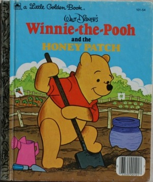 Winnie-the-Pooh and the Honey Patch (Little Golden Book)