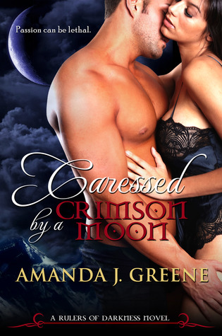 Caressed by a Crimson Moon (Rulers of Darkness, #3)