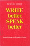 Write Better, Speak Better