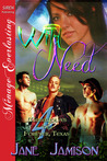 Wild Need (Werewolves of Forever, Texas #4)