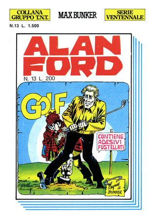 Alan Ford n. 13: Golf