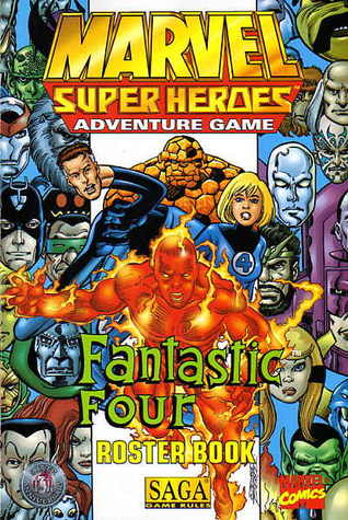 Marvel Super Heroes Adventure Game: Fantastic Four Roster Book