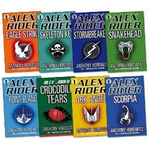 Alex Rider Boxed Set, #1-8 (Alex Rider #1-8)