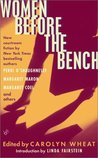 Women Before the Bench