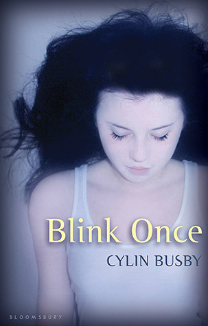 The cover of Blink Once by Cylin Busby