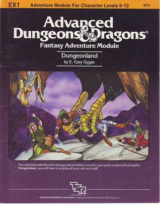 Dungeonland (Advanced Dungeons & Dragons module EX1)