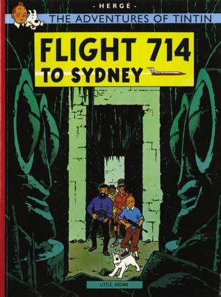 Flight 714 To Sydney by Hergé