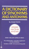 Dictionary of Synonyms & Antonyms