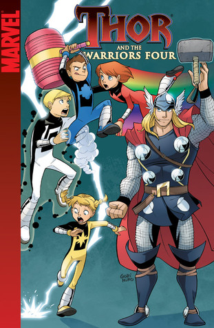 Thor and the Warriors Four by Alex Zalben