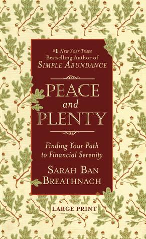 Peace and Plenty by Sarah Ban Breathnach