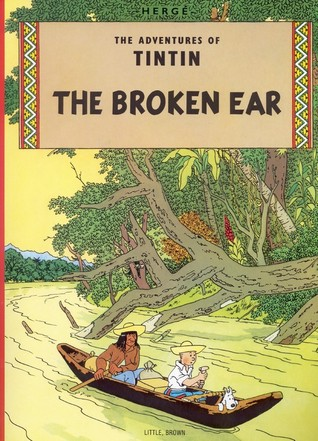 Image result for the broken ear tintin goodreads